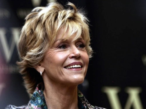 77-Year-Old Jane Fonda: Aging Well & Wisely