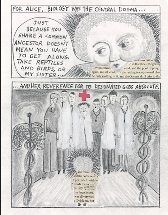 """""""Dogma"""" by Dana Walrath, from """"Aliceheimer's."""""""