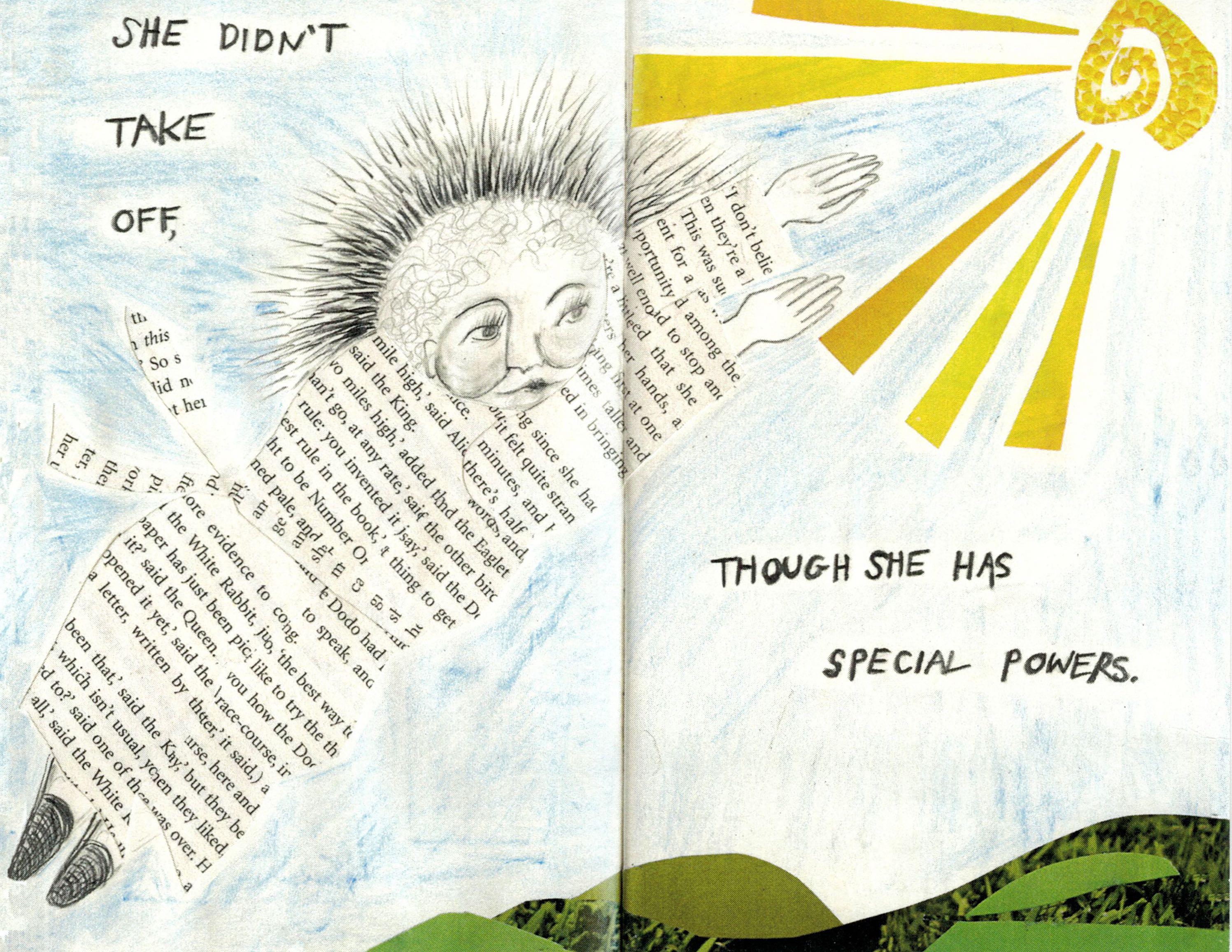 """""""Flight"""" by Dana Walrath, from """"Aliceheimer's."""""""