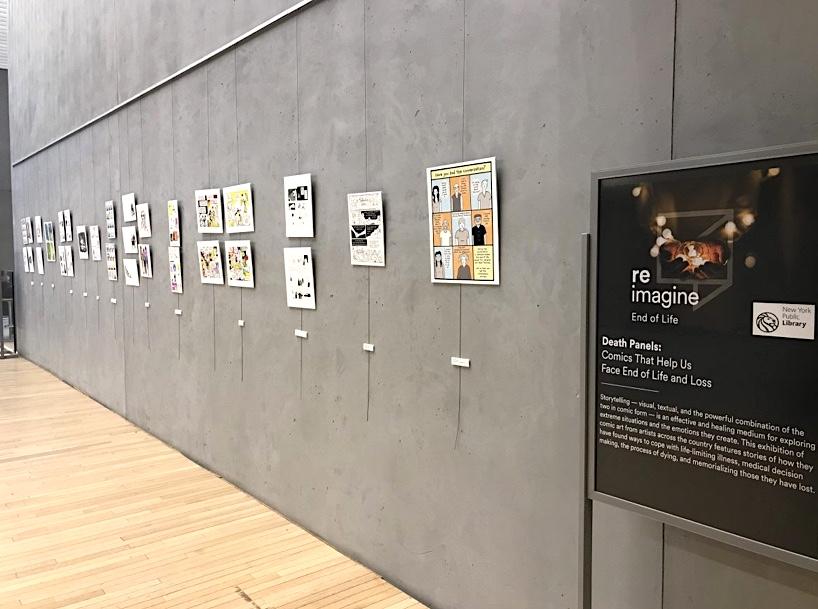 """Death Panels"" exhibit"