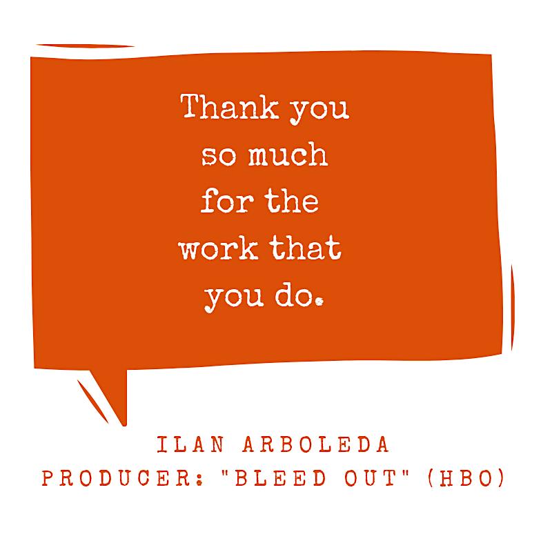 thank you testimonial